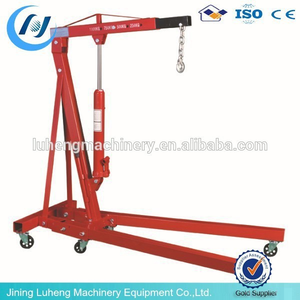 Overhead Manual Crane Hydraulic Mobile Floor Crane Small Hydraulic Crane