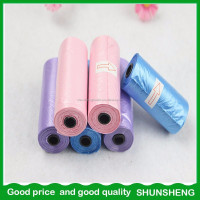 Best selling items Strong toughness pet waste bags on a roll