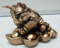 lucky toad/money frog/many sizes feng shui products wholesale
