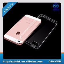 For iPhone 5S Soft Case , 0.6mm for iPhone 5S Clear TPU Case Cell Phone Case Cover