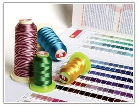Flame Rayon Embroidery Thread