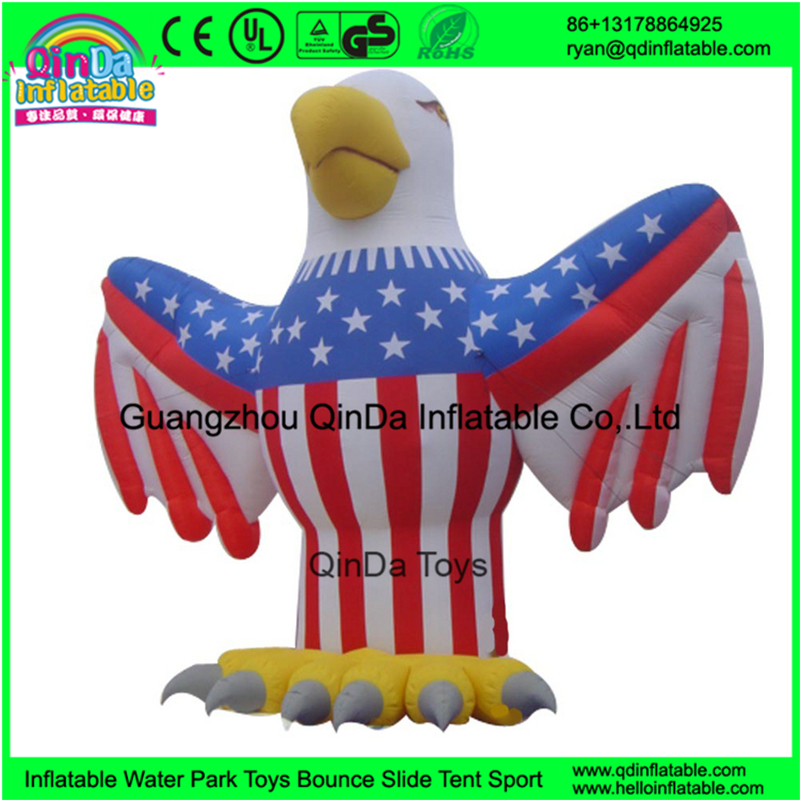 Fashion customize giant inflatable eagle advertising model inflatable cartoon/animal/inflatable eagle model