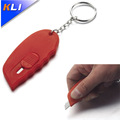Professional red retractable heavy duty twist-Lock cutter knife