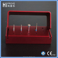 Autoclave Aluminum Alloy Dental Bur Box Holder Block