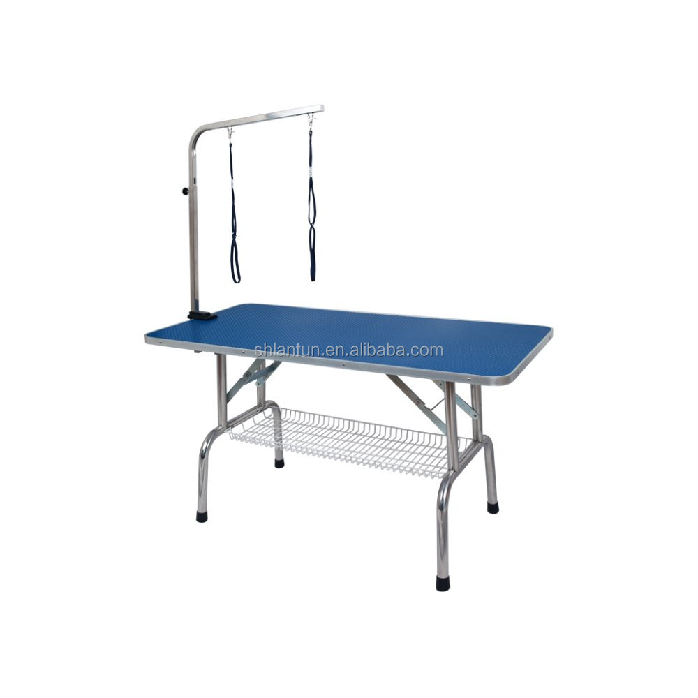 Stainless steel table/ folding pet gromming table