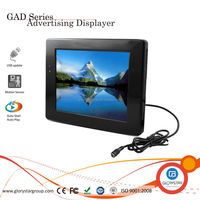 "10.4"" lcd supermarket pos monitor, plastic material advertising equipment, motion activated pos monitor"
