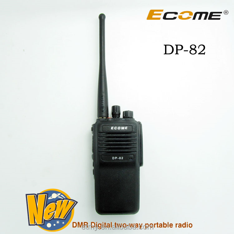 Ecome DP-82 DMR digital conventional professional walkie talkie