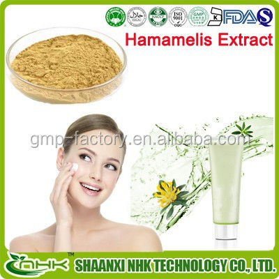 High quality 2015 pure natural plant extract witch hazel p.e. with free sample
