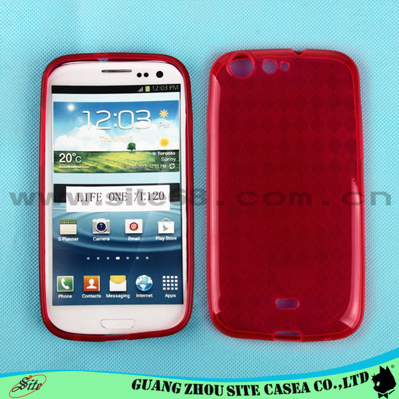 Waterproof cell phone cover diamond pattern Tpu case For BLU Life One /<strong>L120</strong>