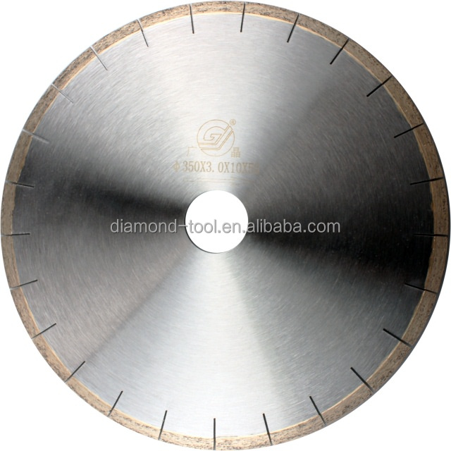 "diamond blade for stone/14"" 350mm diamond saw blade for marble/diamond tool manufacturer"