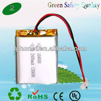 Rechargeable Lipo Battery 2400mah 3.7v For Flat Pc