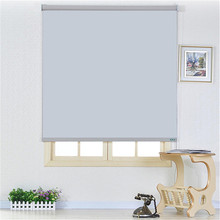 spring roller blind parts with blackout and smmi blackout fabric