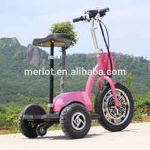 New design three wheeler standing up cheap china motorcycle with big front tire