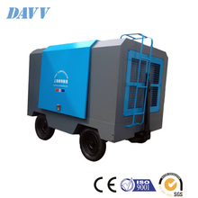 Rotary Twin Screw Single-Stage Oil-cooled 92KW Yuchai Diesel engine portable air compressor