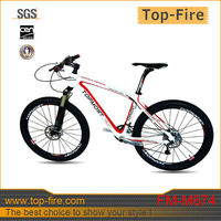 Complete carbon fiber mountain bicycle made in China for sale