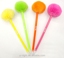 promotional plastic pom shaped pens