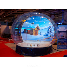 giant inflatable Christmas snow globe inflatable Christmas human size