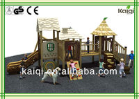 New best kids wooden ancient tribe series outdoor playground toys