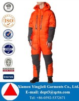 HIGH QUALITY Down Padded Men Snow Suits One Piece Snow Suits For Men