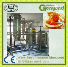 best price fruit vegetable paste juice making equipment in china food concentration machine