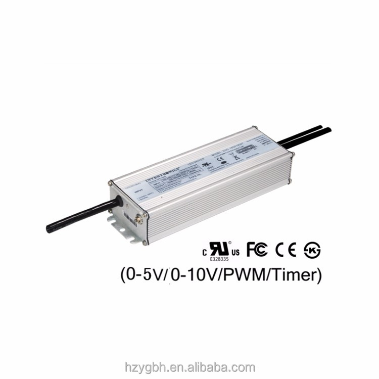 Inventronics 150W IP67 70-1050mA Constant Current 0-10V Dimmable LED Display Driver For Outdoor Advertising Board Power Supply