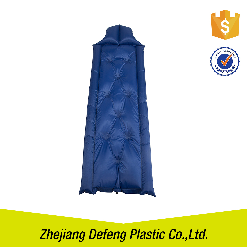 Home Furniture Filled Bed Useful Sitting Thicken Roll Inflatable Mattress Waterproof Beach Pad