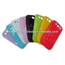 High quality TPU case for samsung i9300 Galaxy S3 8 colors