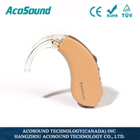 AcoSound Acomate 610 BTE high quality ear hearing aids listening device