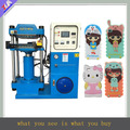 Fashionable and saving labor silicone machine phone case, 3d silicone phone case equipment