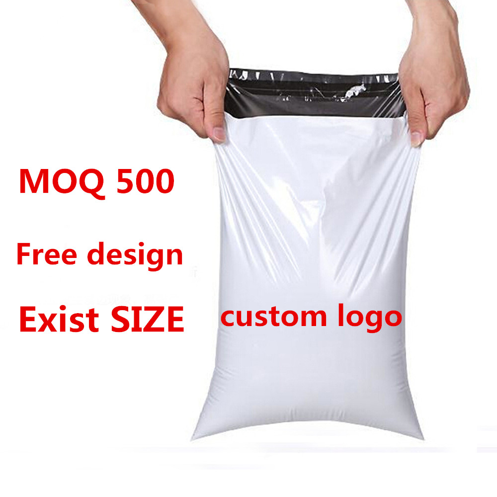 Strong Adhesive Durable Good Price Apparel Custom Plastic Shipping Bags for Clothing