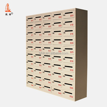 Commercial Furniture Cast Iron Wall Mounted Locking Office Mailboxes