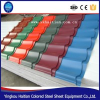 Lowest Price Roof Tiles, prepainted galvanized high strength steel roof tile, Fireproof Roof Tile