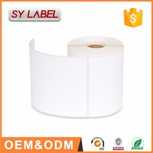 factory custom waterproof online printable shipping thermal printer labels roll