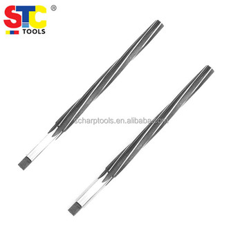 Taper pin reamers with chip breaker HSS