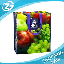 Reusable Supermarket Promotional Foldable Shopping Laminated PP Woven Bags