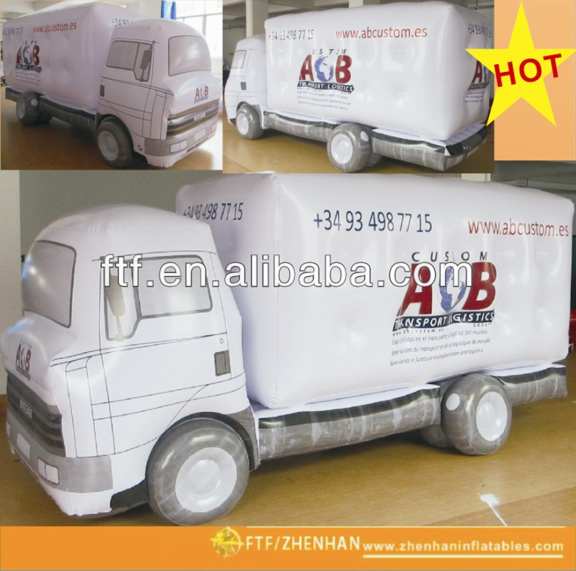 Fashional advertising helium car