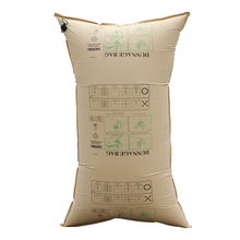 China supplier brown kraft inflatable cargo air dunnage bags