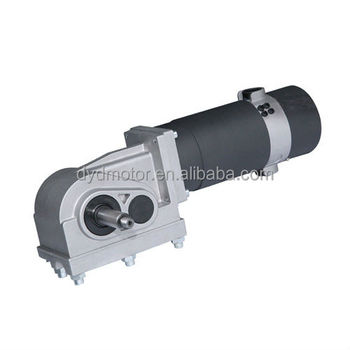 80ZY163-24/115WJ Electric Power Wheelchair DC Worm Gear Motor