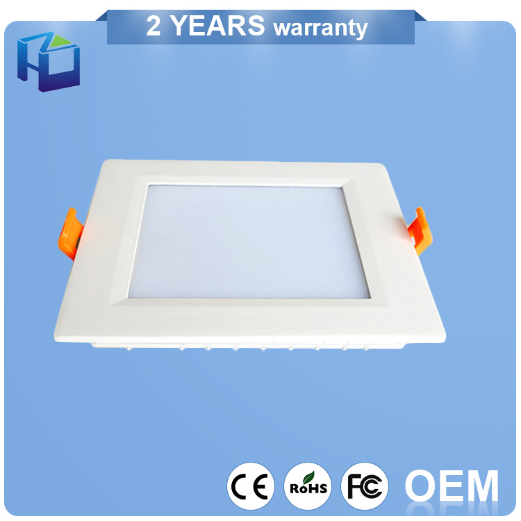 Ultra-Thin Ip40 Indoor Downlight Panel Lamp Motion Sensor Ceiling Light Led For Office Meeting Room
