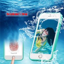 shockproof waterproof protective case phone cover, matting transparent tpu pc hard phone case cover for iphone 8 7 6 case