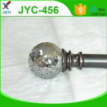 Drapery hardware curtain rod manufacturer crystal finial curtain rods