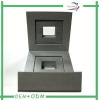 paper jewelry box with silk wadding lining