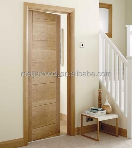 Modern Soild Swing Wood Interior Door