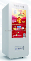 47 inch Advertising touch screen Kiosk Drink Snack small items online payment vending machine