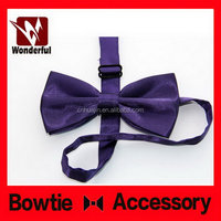 Durable best sell beige flashing bow tie