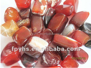 red natural agate stone for sale