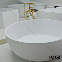 Round bathtub two person soaking , freestanding baths