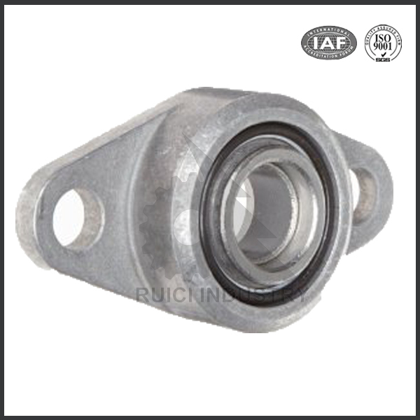 ISO9001 2008 certificate aluminum die cast flanged bearing housing