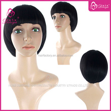Fashion style short cut wig,girls hair cutting styles,noble hair products