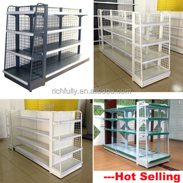 top hot selling chain grocery store shelf mini metal wire